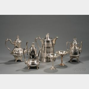 Six Sterling and Silver Plated Tablewares