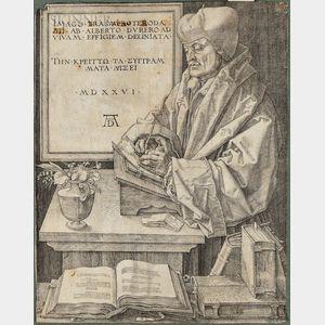 Albrecht Dürer (German, 1471-1528)      Erasmus of Rotterdam