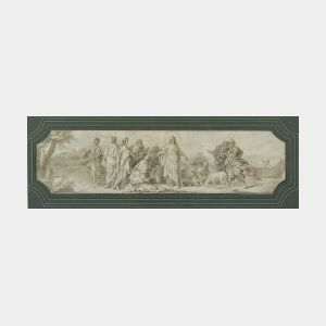 French School, 18th Century  The Good Shepherd
