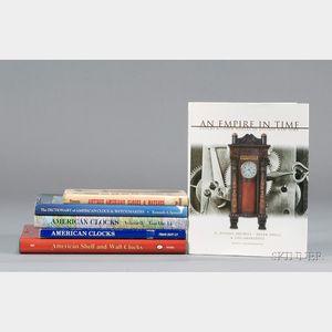 Six Horological Titles on American Clocks