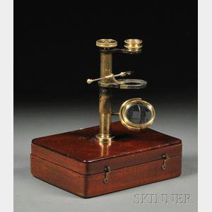 Brass Naturalist's Microscope