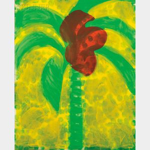 Howard Hodgkin (British, b. 1932)      Flowering Palm