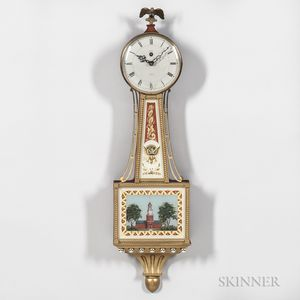 Smiths Clock & Watch Co. Miniature Banjo Clock