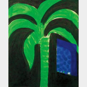 Howard Hodgkin (British, b. 1932)      Palm and Window