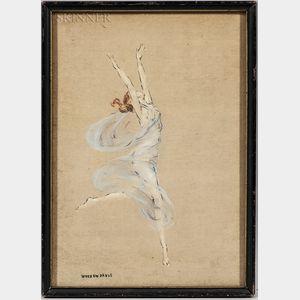 Warren B. Davis (American, 1865-1928)      Dancer