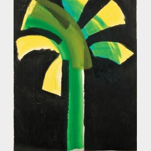 Howard Hodgkin (British, b. 1932)      Night Palm