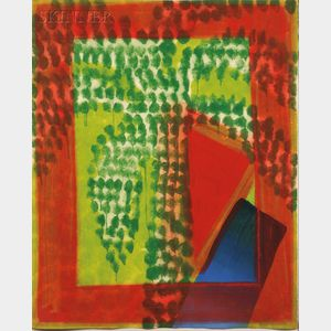 Howard Hodgkin (British, b. 1932)      Street Palm