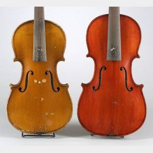 Two Childs German Violins.