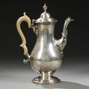 George III Sterling Silver Coffeepot