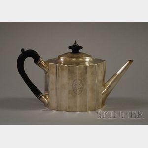 English Georgian Sterling Teapot