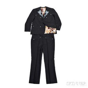 Marty Stuart     Black Nudie Suit