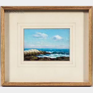 Francis Stillwell Dixon (American, 1879-1967)      Rocky Shore