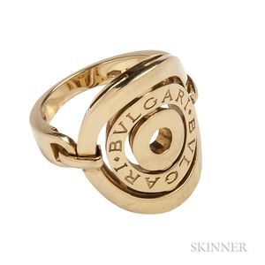 18kt Gold Ring, Bulgari
