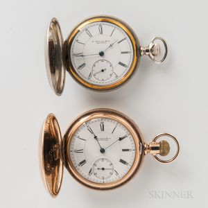 Two E. Howard & Co. Hunter-case Watches