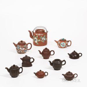 Ten Yixing Teapots