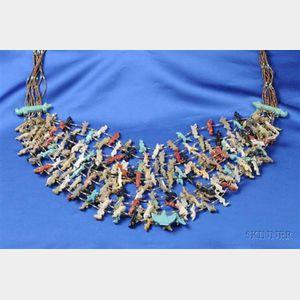 Southwest Multi-strand Fetish Necklace