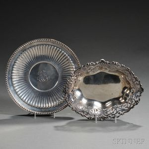Two Pieces of American Sterling Silver Hollowware