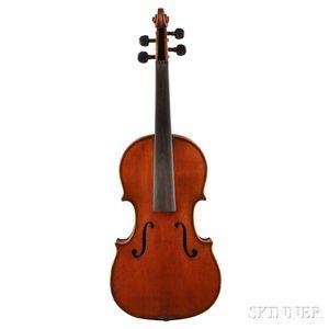 French One-half Size Violin, Jerome Thibouville-Lamy