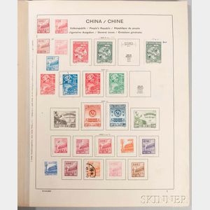 Partial Collection of Postage Stamps
