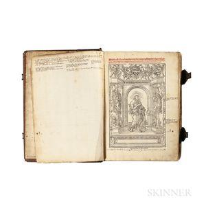 Bible, Latin. Biblia cu[m] Co[n]cordantijs Veteris & Novis.