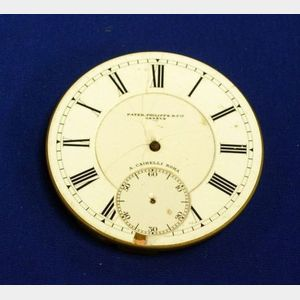 Patek Philippe & Co., Geneva Size 20 Movement