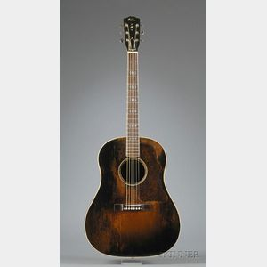 American Guitar, Gibson Incorporated, Kalamazoo, c. 1940,  Model Advanced Jumbo