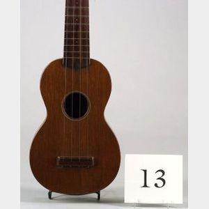 American Soprano 'Ukulele, C. F. Martin & Company, Nazareth, c. 1930, Style 0