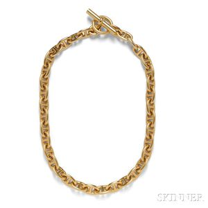 "18kt Gold ""Chaine d'Anchre"" Necklace, Hermes"