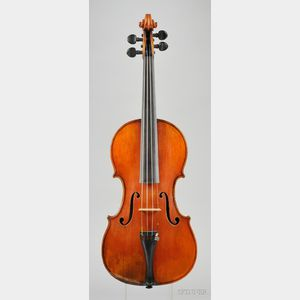 American Violin, George Gemunder, New York, 1858