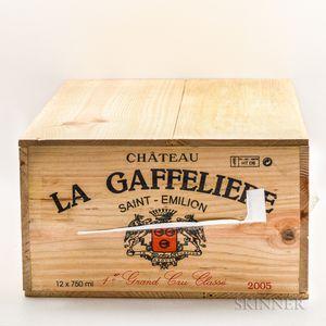 Chateau la Gaffeliere 2005, 12 bottles (owc)