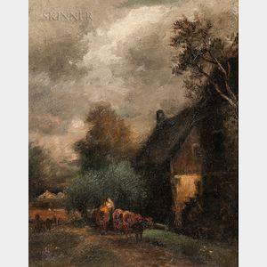 Charles Henry Miller (American, 1842-1922)      Ideal, Toneful - Pastoral