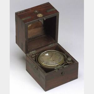 Two-Day Marine Chronometer By Litherland, Davies & Co.