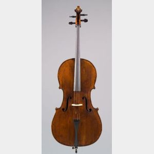 Flemish Violoncello, Probably Ambroise de Comble, Tournay, c. 1750