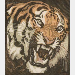 Norbertine Bresslern-Roth (Austrian, 1891-1978)      Tiger's Roar.
