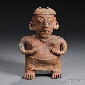 Nayarit Female Pottery Figure