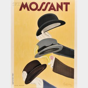 Leonetto Cappiello (French, 1875-1942)      Mossant