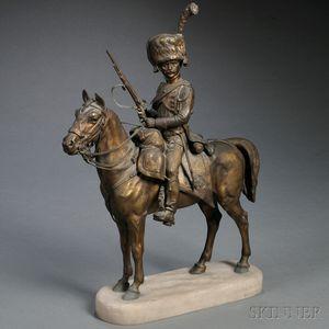 French School, 19th Century       Cossack on Horseback