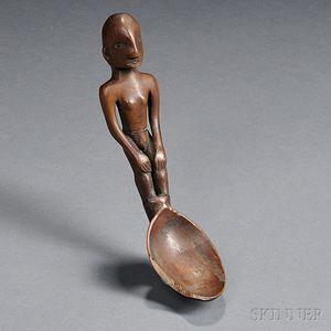 Ifugao Carved Wood Spoon