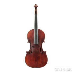American Violin, Edward Kinney, Springfield, 1913