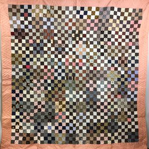 Three Patchwork Cotton Quilts
