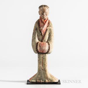 Pottery Female Attendant