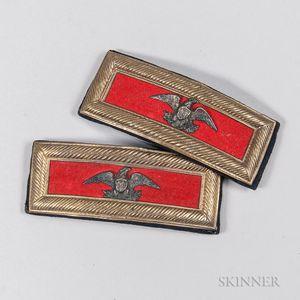 Artillery Colonel's Shoulder Boards