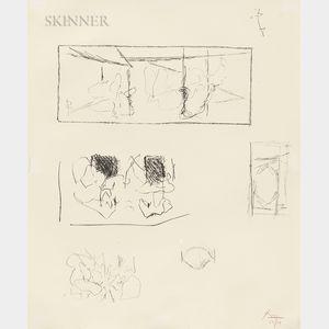 Robert Motherwell (American, 1915-1991)      Elegy Studies