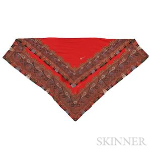 "Kashmir ""Turn Around"" Shawl"