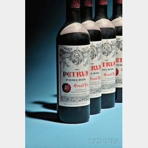 Sold for: $36,450 - Chateau Petrus 1961