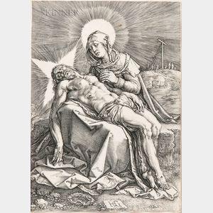 Hendrik Goltzius (Dutch, 1558-1617)      Pietà