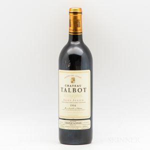 Chateau Talbot 1994, 1 bottle