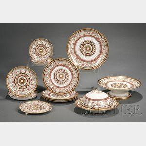 Minton Porcelain Partial Breakfast Set