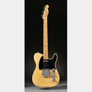 American Electric Guitar, Fender Musical Instruments, Fullerton, 1953, Model   Telecaster,