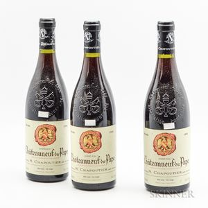Chapoutier Chateauneuf du Pape Barbe Rac 1998, 3 bottles